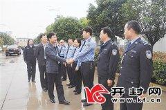记杞县民警的别样中秋节八月十五, 他们和亲人团圆在微信里