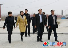 王新胜现场督导徒步穿越活动准备工作