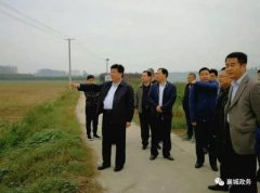 县委书记宁伯伟调研水利工程建设及河长制工作推进情况