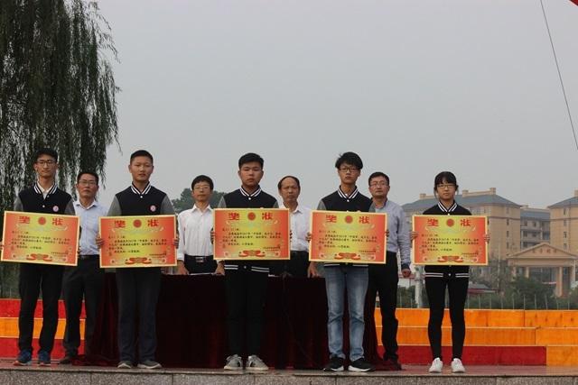 """商城高中举办2017年""""中国梦,成才志,迎十九大""""经典诵读比赛"""