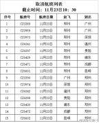 受飞机除冰影响 南航取消郑州机场进出港航班15班