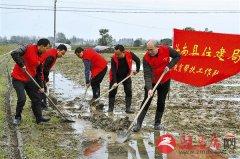 汝南县万名党员干部 奋战除涝第一线