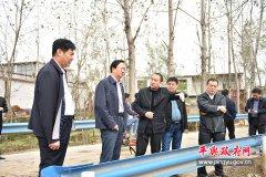 平舆县委副书记、县长赵峰深入部分乡镇调研指导生产自救工作