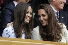 英国凯特王妃妹妹3000张私照遭窃 或有裸照(图)