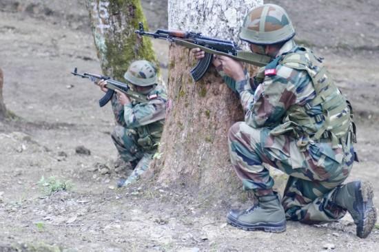 """印美陆军于9月14日至27日在印举行""""Yudh abhyas-2016""""联合军演。"""