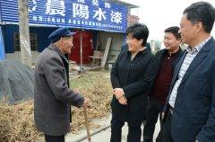 王玉玲到永丰镇大黄村开展结对帮扶和联帮联建活动