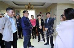 市委常委、纪委书记杨骁到我区调研农村党风廉政建设在村级集体经济发展中的作用情况