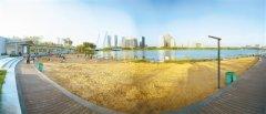 """""""双节""""出游又添好去处 郑东新区龙子湖公园大部分区域对外开放"""