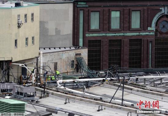当地时间9月29日上午,美国新泽西霍博肯车站一列通勤火车发生脱轨事故,最新消息显示,事故造成1人死亡,。