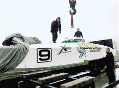 """12条赛艇抵郑 水上""""速度与激情""""周末精彩上演"""