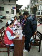 商城县人民医院开展进社区服务活动