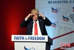 特朗普税务记录被揭露未否认 影响选情言之尚早