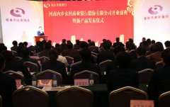内乡农商银行举行开业盛典暨新产品发布仪式