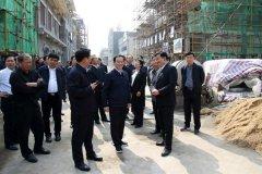 市长胡五岳到我区调研文明城市创建及百城建设提质工程工作