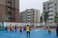 区教体局成功举办全区第十四届中小学生篮球赛