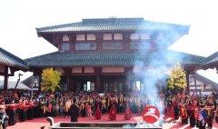 泌阳县举行九九重阳祈福及万人登山大赛活动