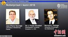 """获诺奖法国化学家:分子机器有""""无限可能性"""""""