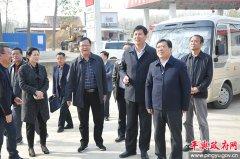 市委常委、常务副市长张昕到平舆县调研小洪河河长制落实情况