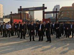 市长胡五岳陪同周口市考察团到魏都区考察学习