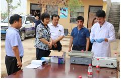 原阳县举行农产品质量安全开放日活动