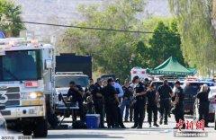 美国加州警察遭枪击:嫌犯系帮派成员 疑有精神病