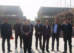 县委书记李振兴调研我县重点项目建设工作