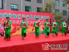 顺河回族区送文化进基层活动举行文艺演出进社区 丰富生活乐居民