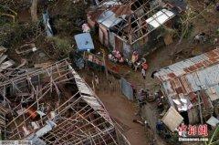 """飓风""""马修""""重创海地 死亡人数增至上千人(图)"""