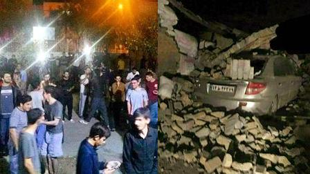 伊拉克伊朗边境发生7.8级强震 伊朗一侧人口稠密 逾200人死亡