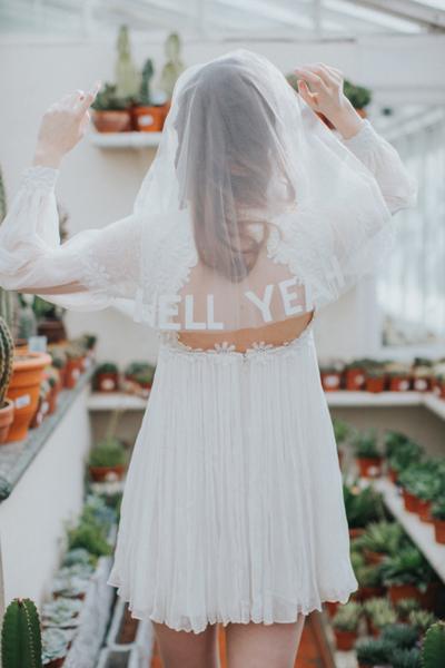 婚纱照摇滚风格怎么拍才个性 摇滚新娘婚纱照欣赏