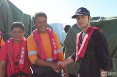 菲渔民获中国海警援救 吃饭看病获精心照顾