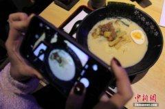 日本一餐馆拉面中现疑似手指异物 或来自服务员
