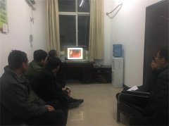 沁阳市人社局组织收看第六届全国道德模范颁奖仪式