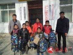 泌阳县春水镇为困境儿童开展暖心活动