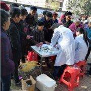 上石桥镇:义诊助扶贫   冬季暖人心