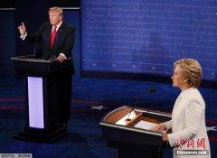 """美国大选三场辩论落幕 互黑""""闹剧""""如何收尾"""