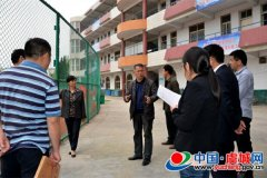 市教育局副局长石翠英到虞城高中检查