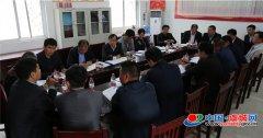 程惠建主持召开南片区乡镇招商引资座谈会