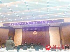 驿城区人民法院召开第十次执行公开大会
