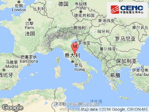 国家地震台网官方微博。