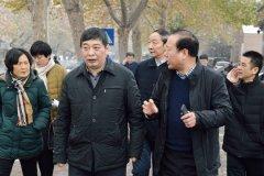 王迎波调研辖区重点企业