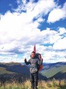 河南濮阳小伙儿背着行囊入西藏 仨月徒步3000公里