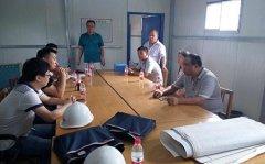 区住建局开展夏季建筑工地安全生产大检查活动