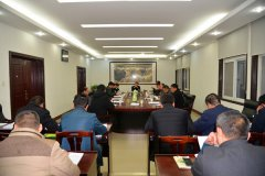 县长马同和主持召开第十四届县政府第十七次常务会议