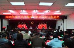我县召开2018年度党报党刊发行工作会议