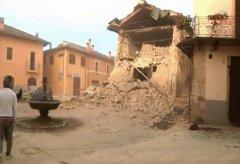 意大利两个月内连续发生多次地震 总理承诺将重建
