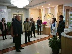 河南省发改委健康养老发展情况调研组到我区调研工作