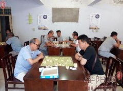 文峰区甜水井街道后仓街社区举办象棋大赛