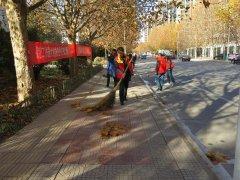 区工商分局扎实开展城市清洁大行动