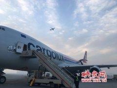 """客货运冲破50万吨!郑州机场成为我国中部机场""""双冠王"""""""